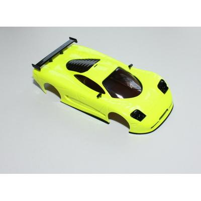Carrosserie TRP Mosler MT900 Jaune fluo pour Miniz MR02/03