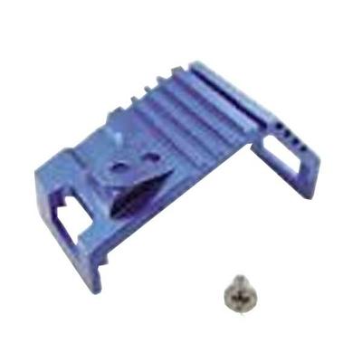 Clips moteur alu bleu pour miniz