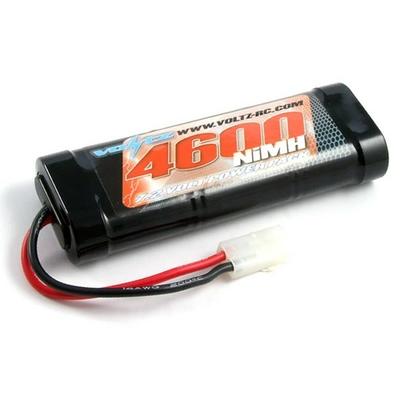 VOLTZ Batterie NIMH 4600 mAh 7.2v prise Tamiya