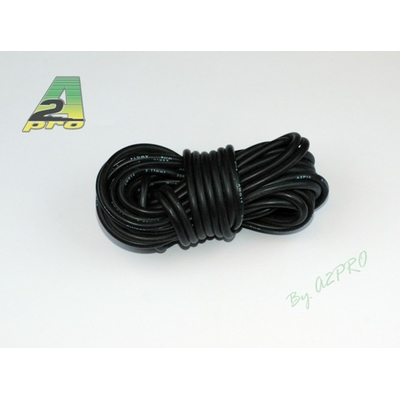 A2P Fil silicone AWG14 - 2,12mm² noir, 17142