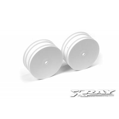 XRAY XB4 Jantes avant 14mm Blanches