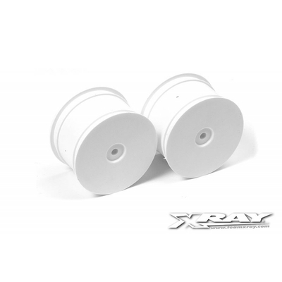 XRAY XB4 Jantes arrière 14mm Blanches
