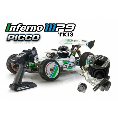 KYOSHO  INFERNO MP9 READYSET AVEC PICCO.21 E1 DUAL START, 31889E1