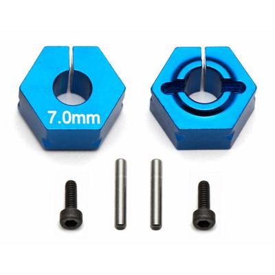 Team Associated Hexagone de roue 7.0mm