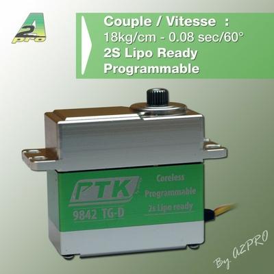 A2P Servo Standard Numérique Coreless 9842 TG-D, 79842