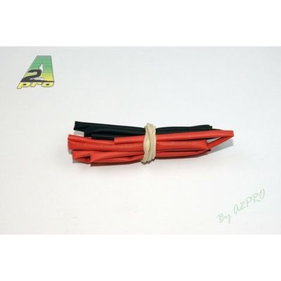 A2P Tube thermo 2mm rouge+noir (2 x 50cm), 160020