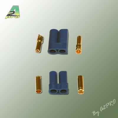A2P Connecteur EC5 or Mâle + Femelle (1 paire), 14165