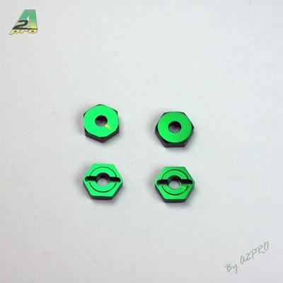 A2P  Moyeu de roue alu (4pcs) C10918