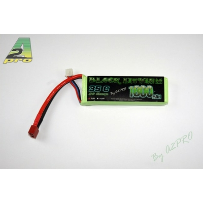 A2P Black Lithium 1800mAh 35C 2S (107 grs), 9180320