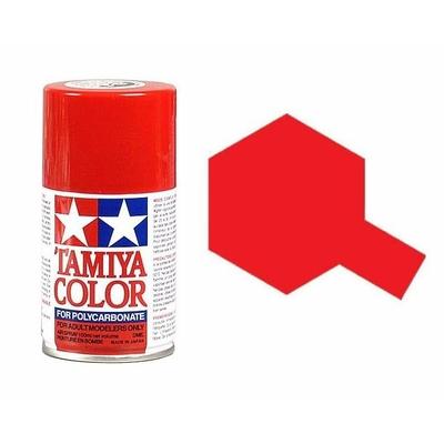 TAMIYA PS02 Rouge Bombe peinture Lexan