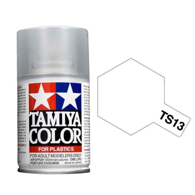 TAMIYA TS13 Vernis Transparent Bombe peinture Maquette