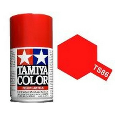 TAMIYA TS86 Rouge Brillant Bombe peinture Maquette