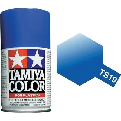 TAMIYA TS19 Bleu Metallise Bombe peinture Maquette, TAMITS19