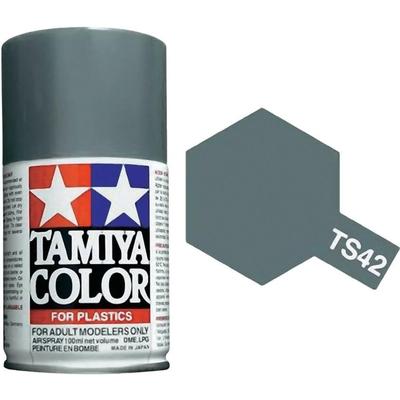 TAMIYA TS42 Gris Clair Metallique Bombe peinture Maquette