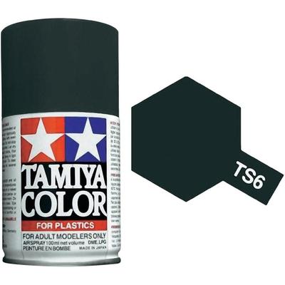 TAMIYA TS06 Noir Mat Bombe peinture Maquette