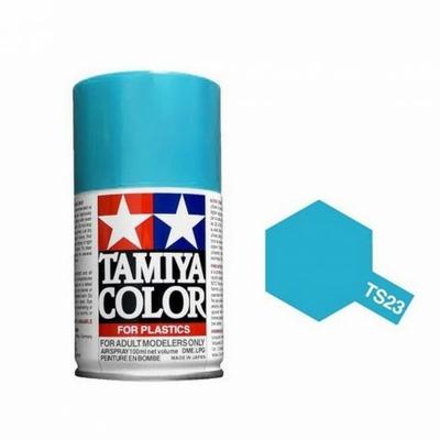 TAMIYA TS23 Bleu Clair Brillant Bombe peinture Maquette