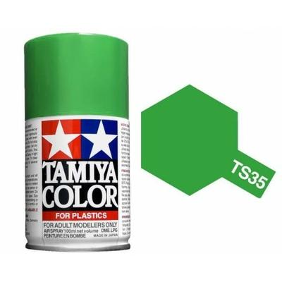 TAMIYA TS35 Vert Pre Bombe peinture Maquette, TS35
