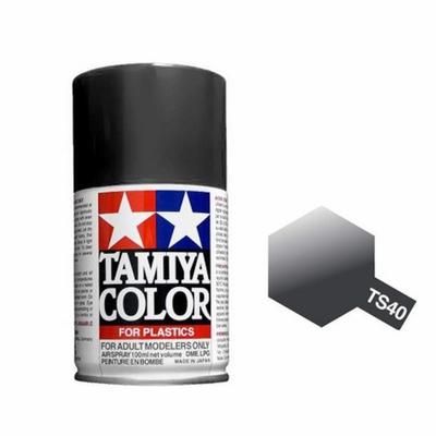 TAMIYA TS40 Noir Métallise Bombe peinture Maquette