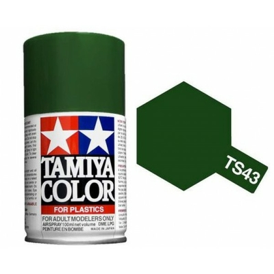 TAMIYA TS43  Vert Compétition Bombe peinture Maquette