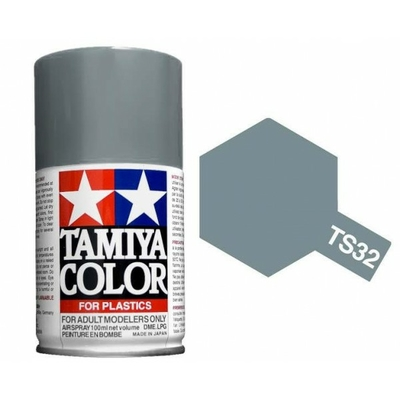 TAMIYA TS32 Gris brumeux Bombe peinture Maquette