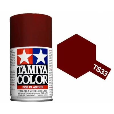 TAMIYA TS33 Rouge mat Bombe peinture Maquette