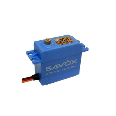 Savox Servo SW-0231MG Waterproof 15kg 0.17s Métal, SX-SW-0231MG