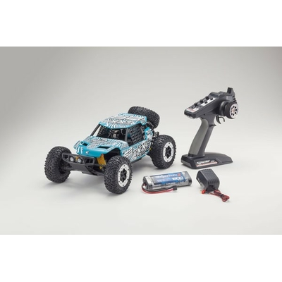 KYOSHO AXXE 1:10 EP BUGGY (KT231P) - T6 VERT READYSET, 34401T6B