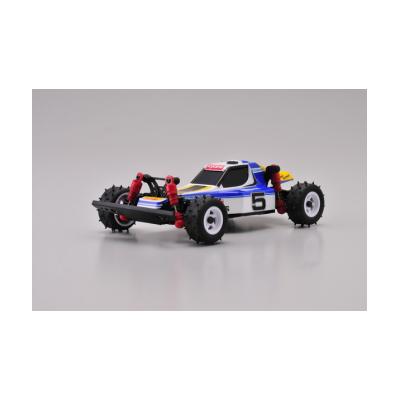 MINI-Z MB010S 4WD 1/24 OPTIMA BLEU/BLANC - READYSET, 32082W