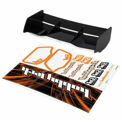 HOBBYTECH Aileron buggy Noir 1/8 Racing HTR buggy 1/8 Racing + stickers, HT-501601