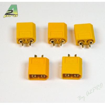 A2P Connecteur XT-60 OR Haute Qualité Mâle (5 pcs), 14161