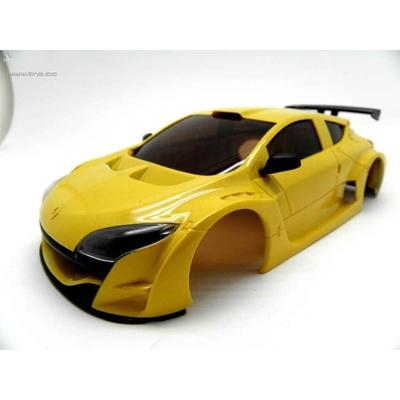 TRP Carrosserie Megane Trophy V6 Jaune amarillo, SCE004
