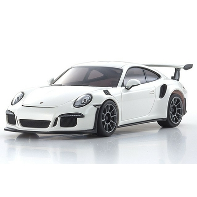 KYOSHO Autoscale Mini-z Porsche 911 GT3 RS Blanche (N-RM), MZP150W