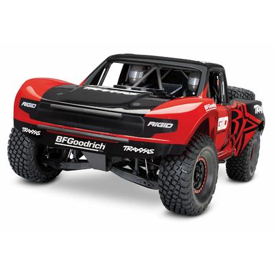 TRAXXAS UNLIMITED DESERT RACER Rouge/noir - 4x4 - VXL - TSM, TRX85076-4