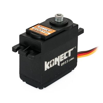 KONECT Servo Digital 9kg-0.13s pignons métal, KN-0913LVMG