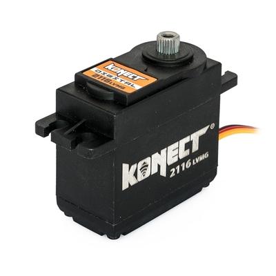 KONECT  Servo Digital 21kg-016s pignons métal, KN-2116LVMG