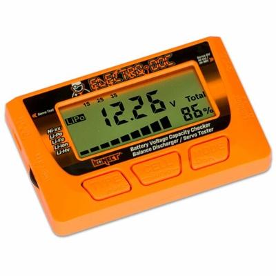 KONECT  Testeur de batteries +equilibreur+ testeur servo, KN-ELECTRO-DOC