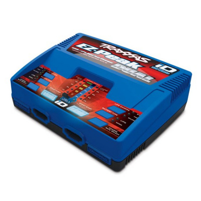 TRAXXAS CHARGEUR DOUBLE RAPIDE AC LIPO/NIMH 8A PRISE, 2972GX