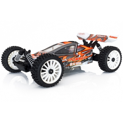 HOBBYTECH 1/8 RTR BX8 Runner Orange type SL charbon, 1.SL.BX8.RUNNER-O