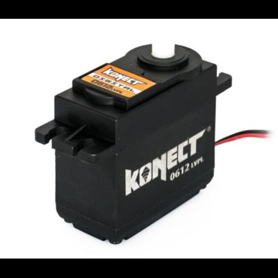KONECT Servo Digital 6kg-0.12s pignons plastique, KN-0612LVPL