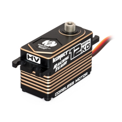 KONECT Servo Racing Team Low Profil HV digital Coreless 12kg-0.07s,