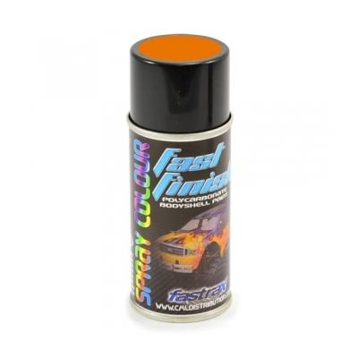 FASTRAX BOMBE PEINTURE CARROSSERIE LEXAN Honda Orange Power 150ML, FAST276