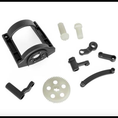 FUNTEK Couronne+pignon+protection moteur+renvoi de direction, FTK-MT4-02