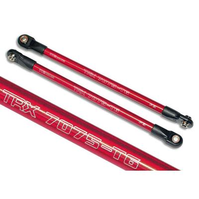 TRAXXAS biellette Alu rouge (x2), 5319X