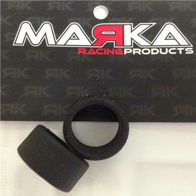 MARKA MZR-V9R10 Pneu Slick arrière gomme V9 10° pour RCP Track (1 paire)