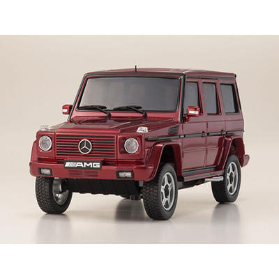 KYOSHO AUTOSCALE OVERLAND MERCEDES G55L AMG RED METALLIC, MVP7R