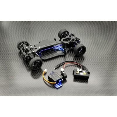 GLA-V2.1 4WD GL-Racing kit à monter ( sans servo et vario ), GLA-V2-001-K