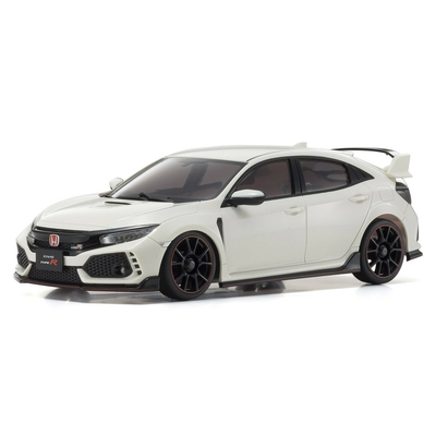 KYOSHO MINI-Z FWD Honda CIVIC Type R Blanche Readyset RTR, 32424W