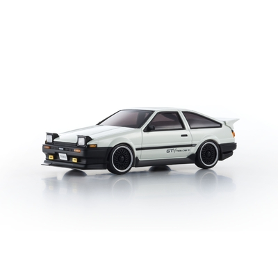 KYOSHO Mini-Z AWD MA020 VE PRO +D EVO TOYOTA TRUENO GTV AE86 BLANCHE, 32172GTV