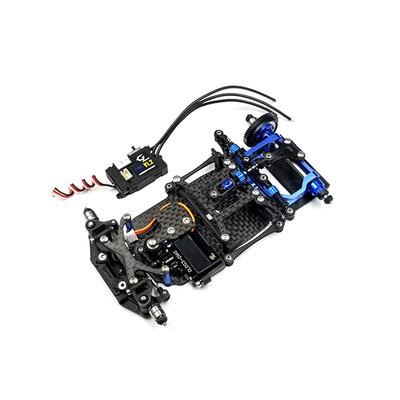 GL RACING Kit GLR à monter avec servo et controller, GLR-001-KSET