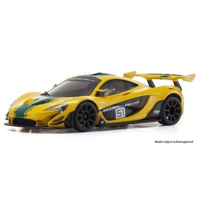 KYOSHO MINI-Z RWD McLaren P1 GTR Yellow/Green Readyset RTR, 32324YG